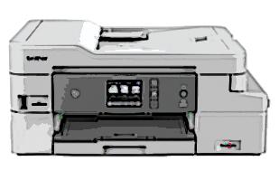 Druckerpatronen für Brother DCP-J1100DW Drucker