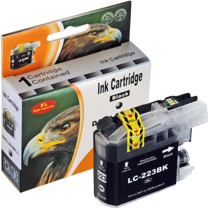 Kompatibel Brother LC-223 XL Set 4 Druckerpatronen von D&C
