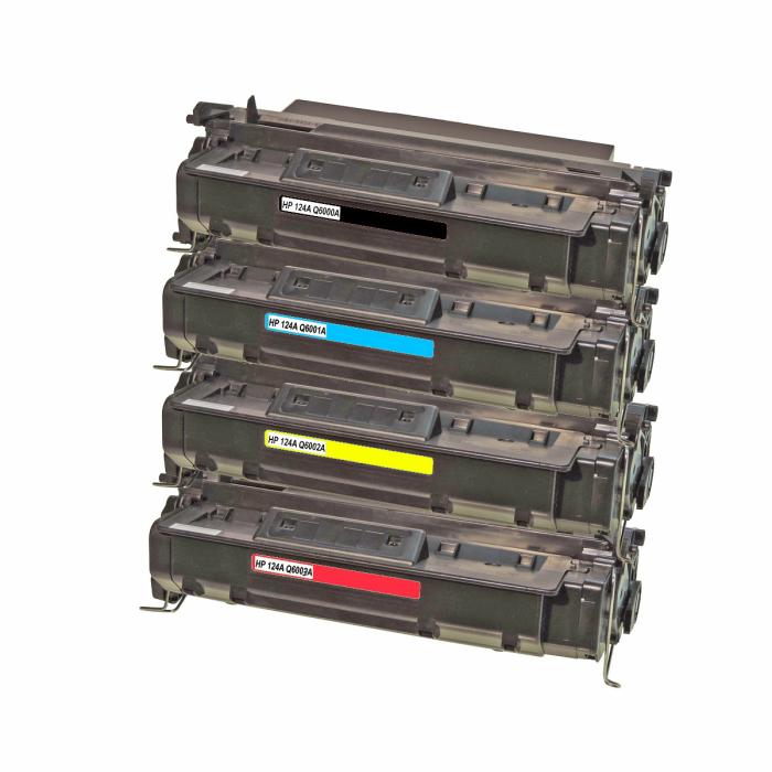 Kompatibel HP Q6000A, Q6001A, Q6002A, Q6003A Sparset 4...