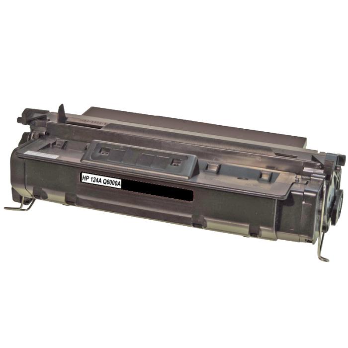 Kompatibel HP Q6000A, 124A BK Schwarz Black Toner Patrone...