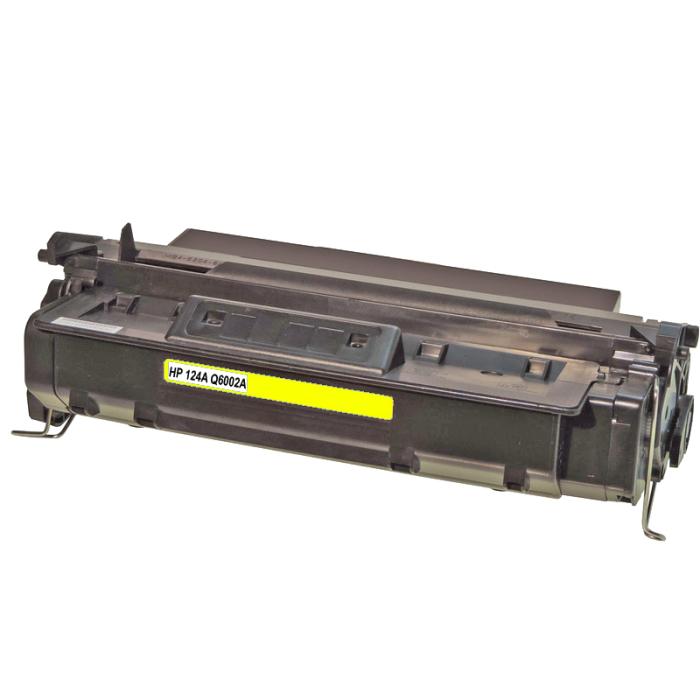 Kompatibel HP Q6002A, 124A Y Yellow Gelb Toner Patrone...