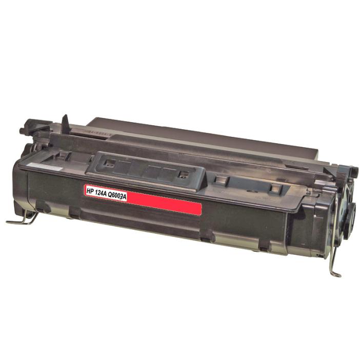Kompatibel HP Q6003A, 124A M Magenta Rot Toner Patrone...