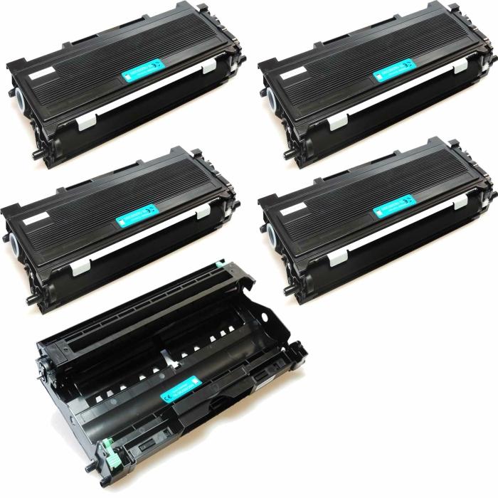 Kompatibel Brother DR-2005 & 4x TN-2005, TN-2000...