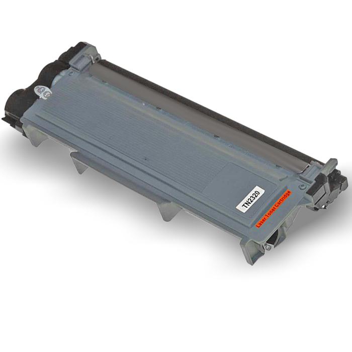 Kompatibel Brother TN-2320 XL Toner Multipack 4 schwarze Tonerpatronen für je 5.200 Seiten von D&C