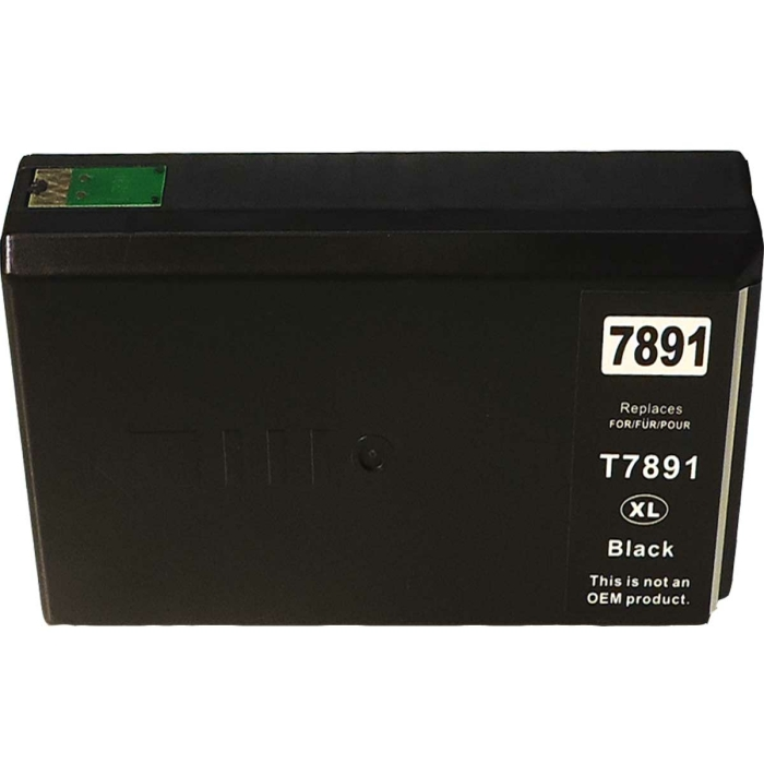Kompatibel Epson C13T78914010, T7891, 78XL BK Schwarz...
