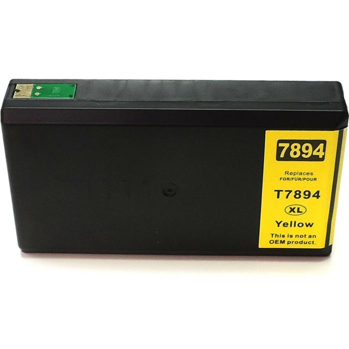 Kompatibel Epson C13T78944010, T7894, 78XL Y Yellow Gelb...