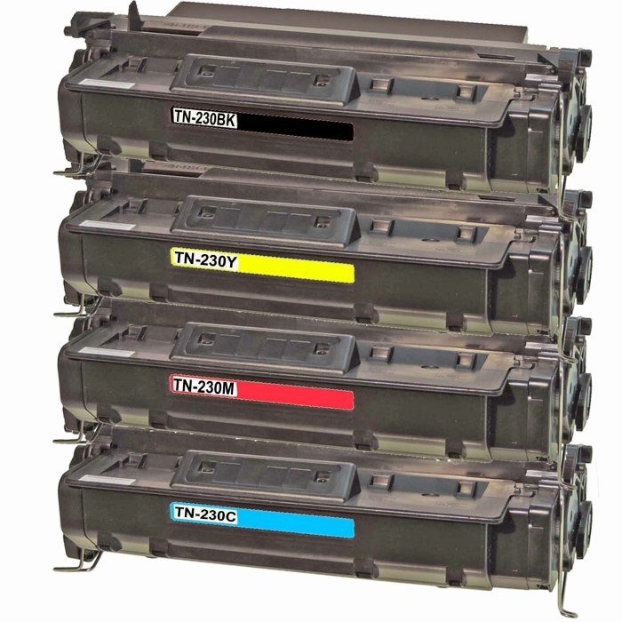 Kompatibel Brother TN-230BK, TN-230C, TN-230M, TN-230Y...