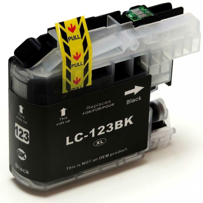 Kompatibel Brother LC-123 XL BK Schwarz Black...