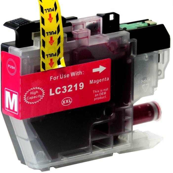 Kompatibel Brother LC-3219 XXL Set 4 Druckerpatronen von D&C