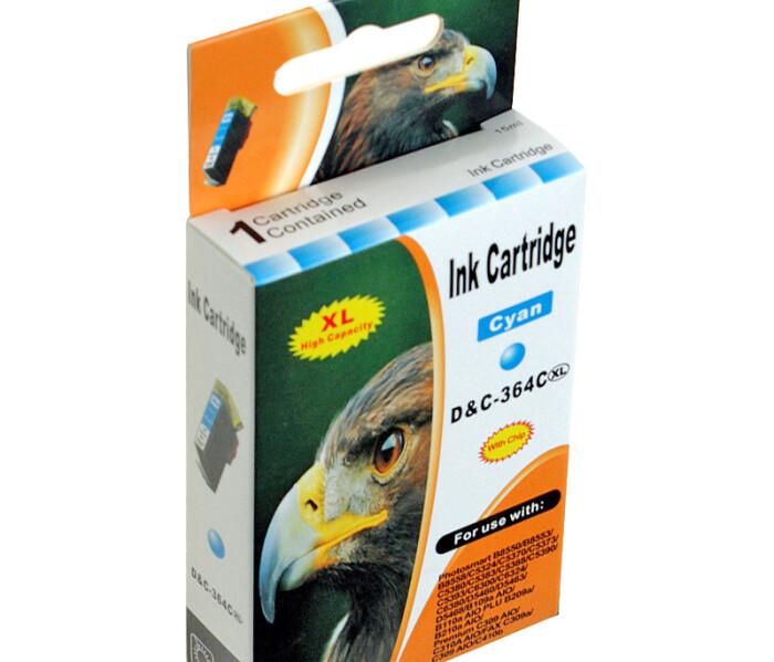 Kompatibel 10x Tinte HP HP364XL Patronen Marke DC HP-364 XL für Photosmart Drucker