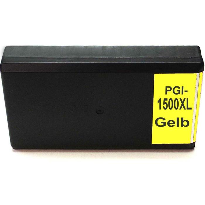 Kompatibel Canon PGI-1500 XL, 9195B001 Y Yellow Gelb...