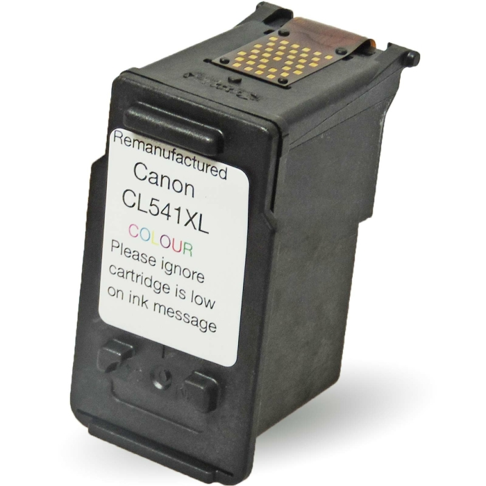 Wiederbefüllt 2er Set Canon PG-540XL BK + CL-541XL C Druckerpatronen wiederbefüllt Schwarz + alle Farben von Gigao