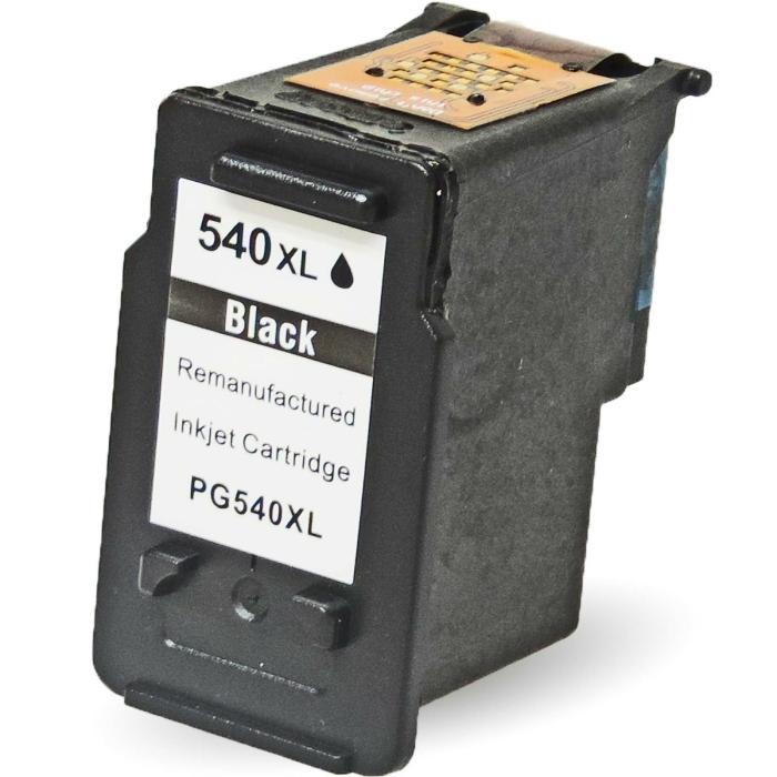 Wiederbefüllt Canon PG-540 XL, 5222B001 BK Schwarz...