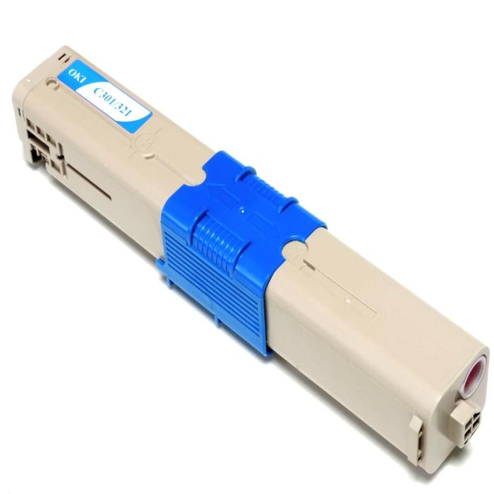 Kompatibel Toner Cyan Oki 44973535 C321 44973535