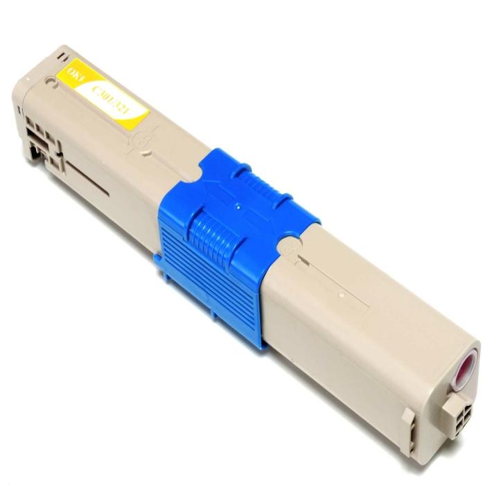 Kompatibel Toner Gelb Oki 44973533 C321 44973533