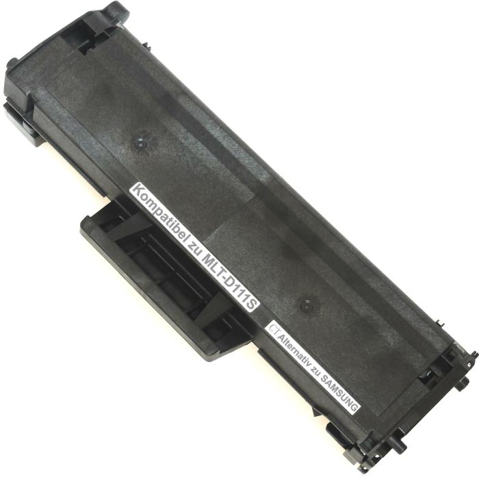 Kompatibel Samsung MLT-D111S BK Schwarz Black Toner Patrone für 1.000 Seiten von D&C