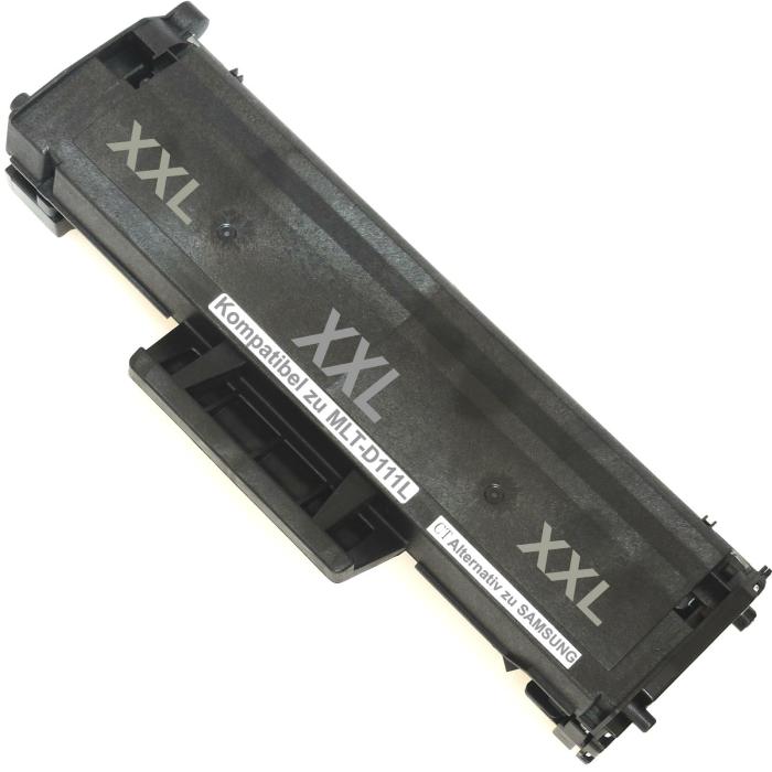Kompatibel Samsung MLT-D111L BK Schwarz Black Toner Patrone für 1.800 Seiten von D&C