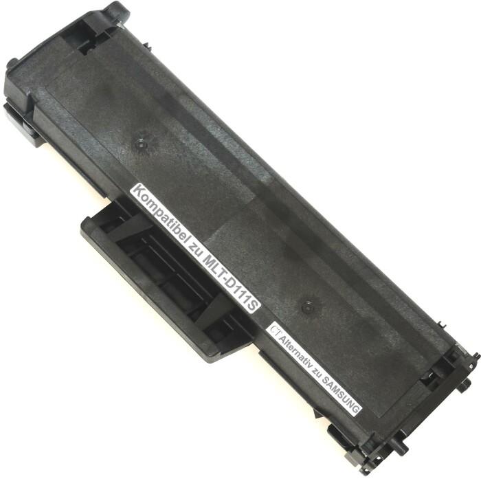 Kompatibel Samsung MLT-D111S Toner Multipack 4 schwarze Tonerpatronen für je 1.000 Seiten von D&C