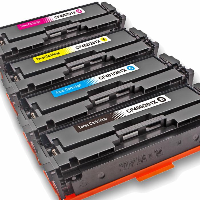 Kompatibel HP CF400X, CF401X, CF403X, CF402X Sparset 4...