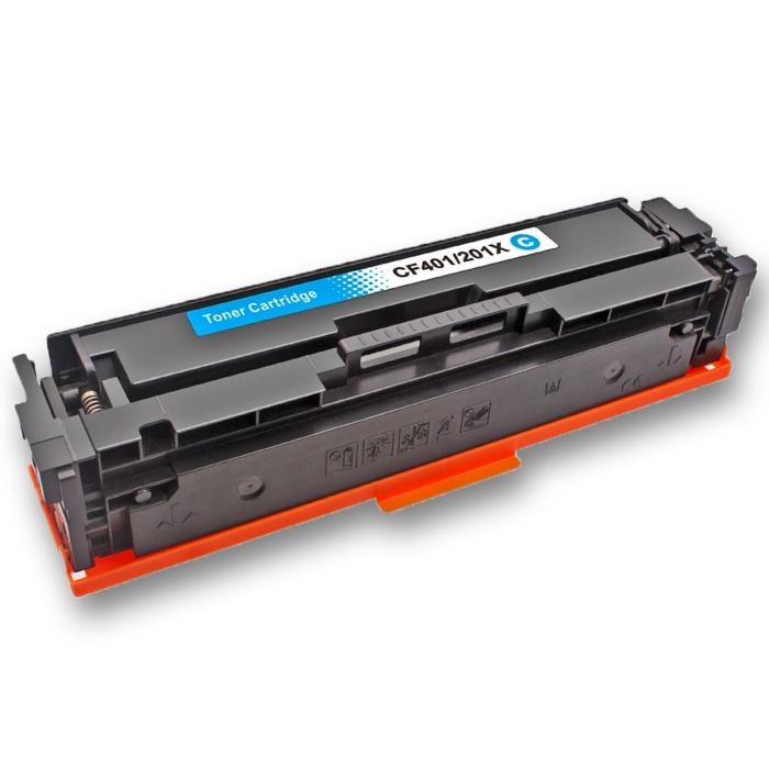 Kompatibel HP 201X, CF401X C Cyan Blau Toner Patrone...