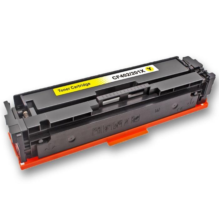 Kompatibel HP 201X, CF402X Y Yellow Gelb Toner Patrone...