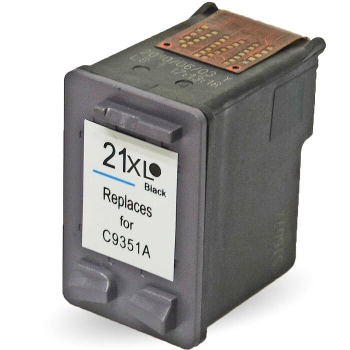 Wiederbefüllt 2er Set HP 21XL BK C9351AE + 22XL C C9352AE Druckerpatronen wiederbefüllt Schwarz + alle Farben von Gigao