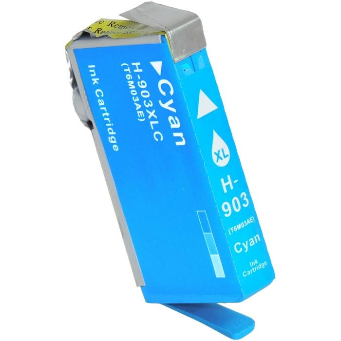 Kompatibel HP T6M03AE, 903XL C Cyan Blau Druckerpatrone...