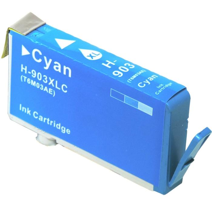 Kompatibel HP T6M03AE, 903XL C Cyan Blau Druckerpatrone für 825 Seiten von D&C