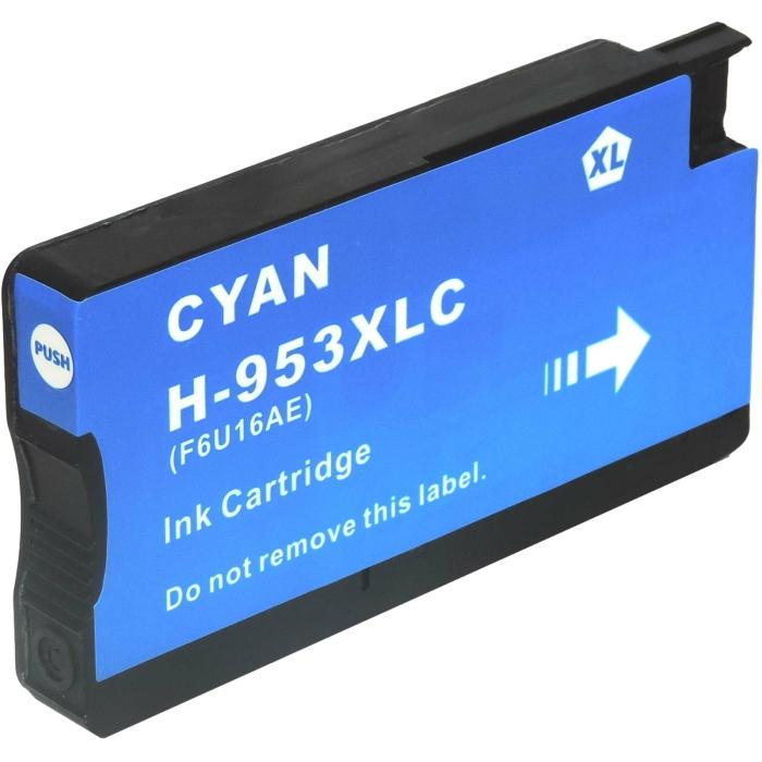 Kompatibel 5er Set HP 953XL, 3HZ52AE Druckerpatronen Tinte 2x Schwarz und je 1x Cyan, Magenta und Gelb von D&C