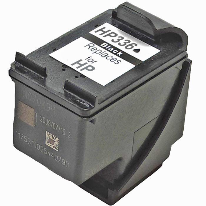 Wiederbefüllt HP 336, C9362EE BK Schwarz Black...
