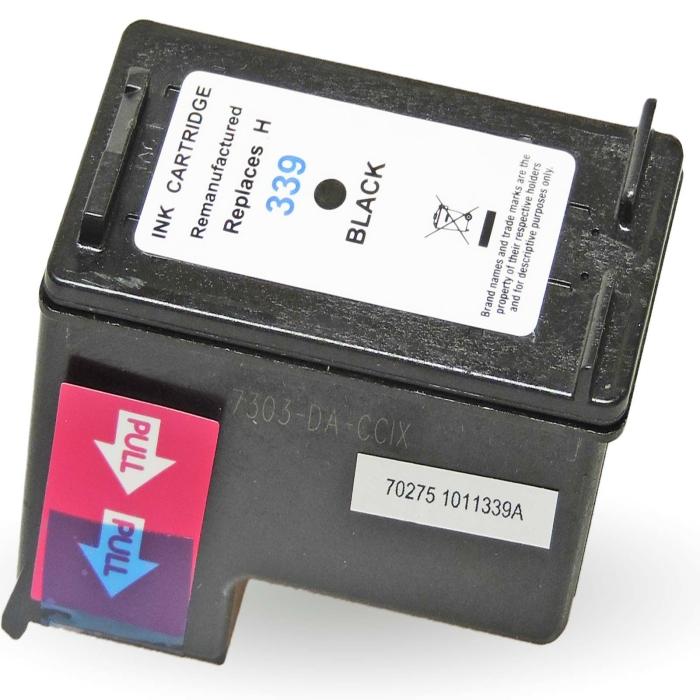 Wiederbefüllt HP 339, C8767EE BK Schwarz Black Druckerpatrone für 860 Seiten von Gigao