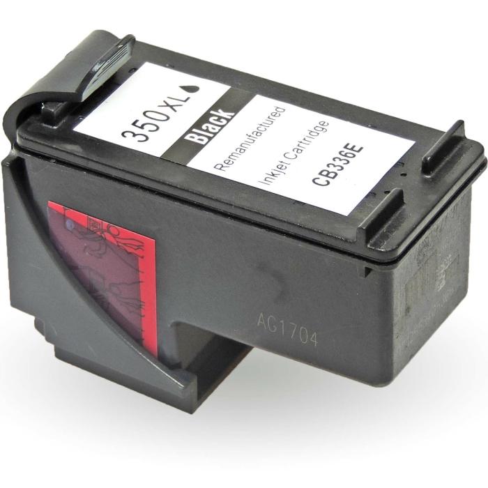 Wiederbefüllt HP 350XXL, CB336EE BK Schwarz Black...