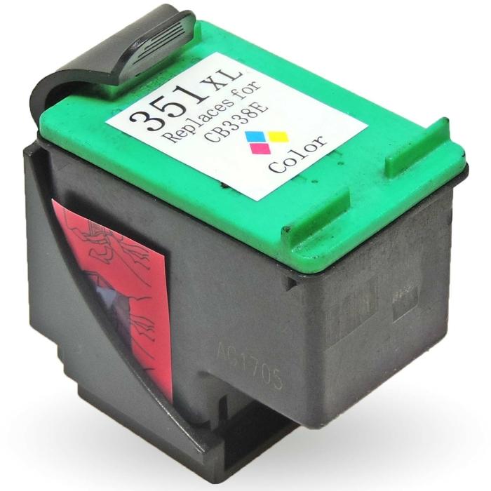 Wiederbefüllt HP 351XXL, CB338EE C Color Cyan /...