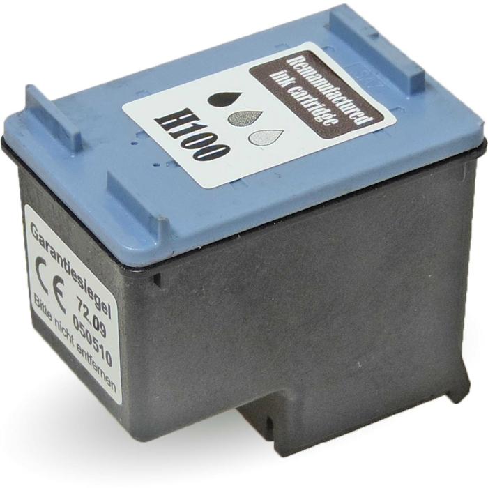 Wiederbefüllt HP 100, C9368AE GY Grau Grey Druckerpatrone für 80 Seiten von Gigao