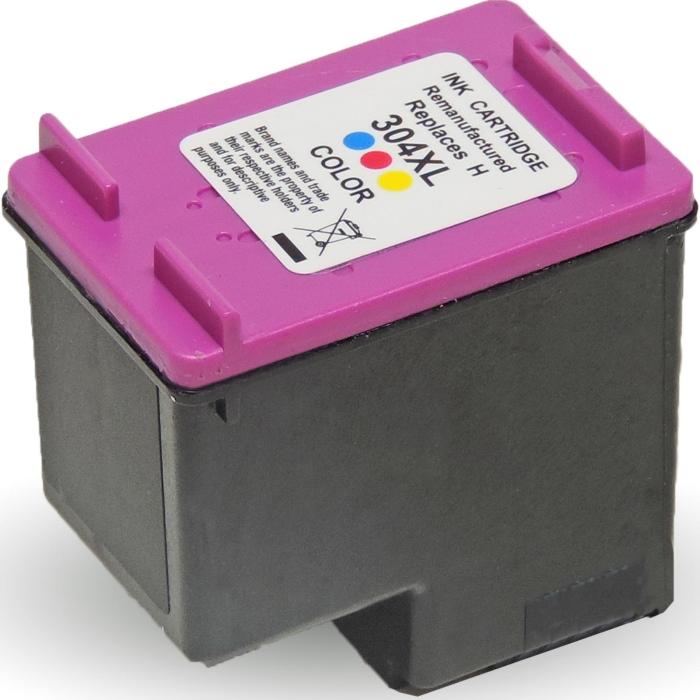 Wiederbefüllt HP 304XL, N9K07AE C Color Cyan /...