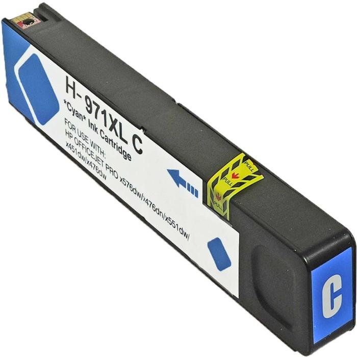 Kompatibel HP 971XL, CN626AE C Cyan Blau Druckerpatrone...