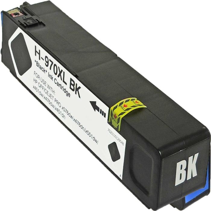 Kompatibel HP 970XL, CN625AE BK Schwarz Black...