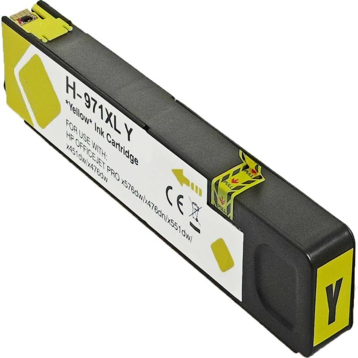 Kompatibel HP 971XL, CN628AE Y Yellow Gelb Druckerpatrone...