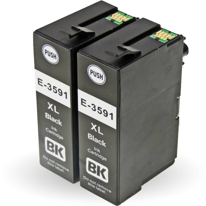 Tinte Kompatibel 5er Set Epson T3596, 35XL  für Epson WorkForce Pro WF-4720DWF, WF-4720 Series, WF-4725DWF, WF-4730DTWF, WF-4735DTWF, WF-4740DTWF