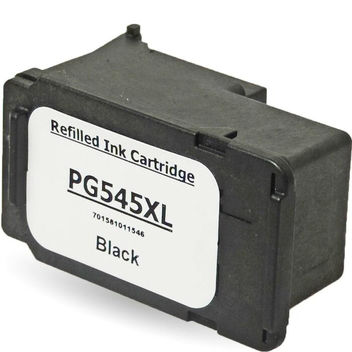 Wiederbefüllt 3er Set Canon PG-545XL BK + CL-546XL C Druckerpatronen wiederbefüllt 2x Black + 1x alle Farben von Gigao