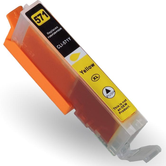 Kompatibel 10er Set Canon CLI-571 XL, PGI-570 XL Druckerpatronen Tinte alle Farben von D&C