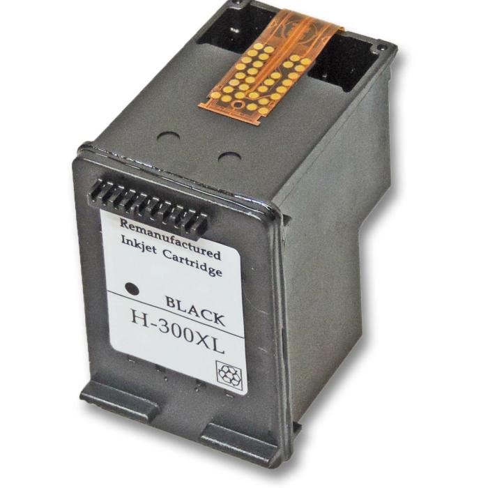 Wiederbefüllt HP 300XL, CC641EE BK Schwarz Black...