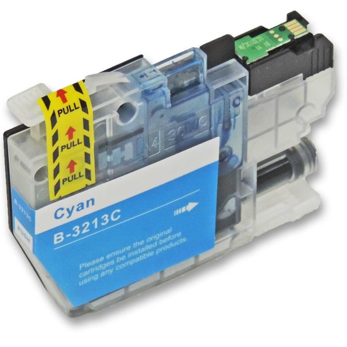 Kompatibel Brother LC-3213 XL C Cyan Blau Druckerpatrone für 400 Seiten von D&C