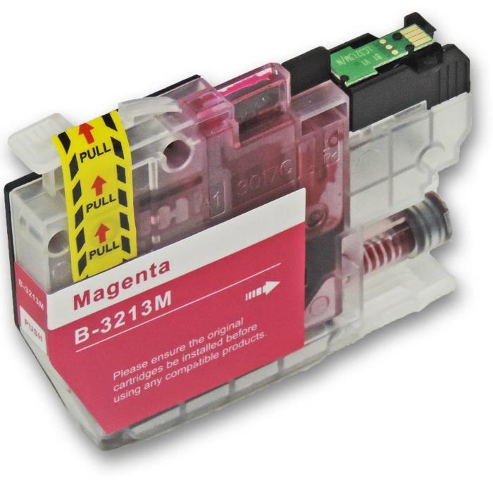 Kompatibel Brother LC-3213 XL M Magenta Rot Druckerpatrone für 400 Seiten von D&C