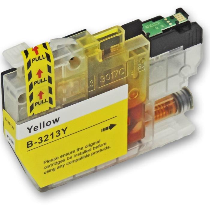 Kompatibel Brother LC-3213 XL Y Yellow Gelb Druckerpatrone für 400 Seiten von D&C
