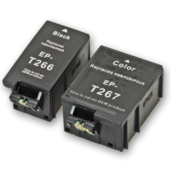 Kompatibel 2er Set Epson T2661 / 266, T2670 / 267...