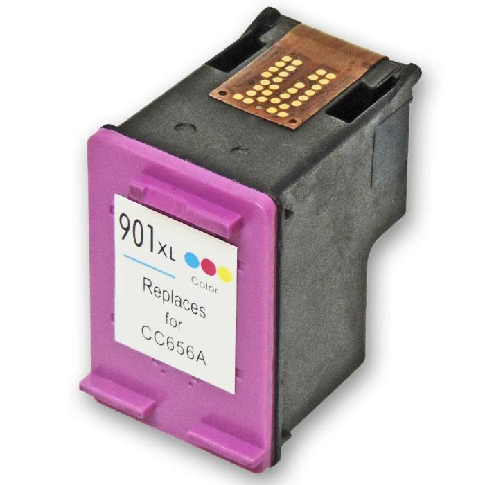 Wiederbefüllt HP 901XL, CC656AE C Color Cyan /...