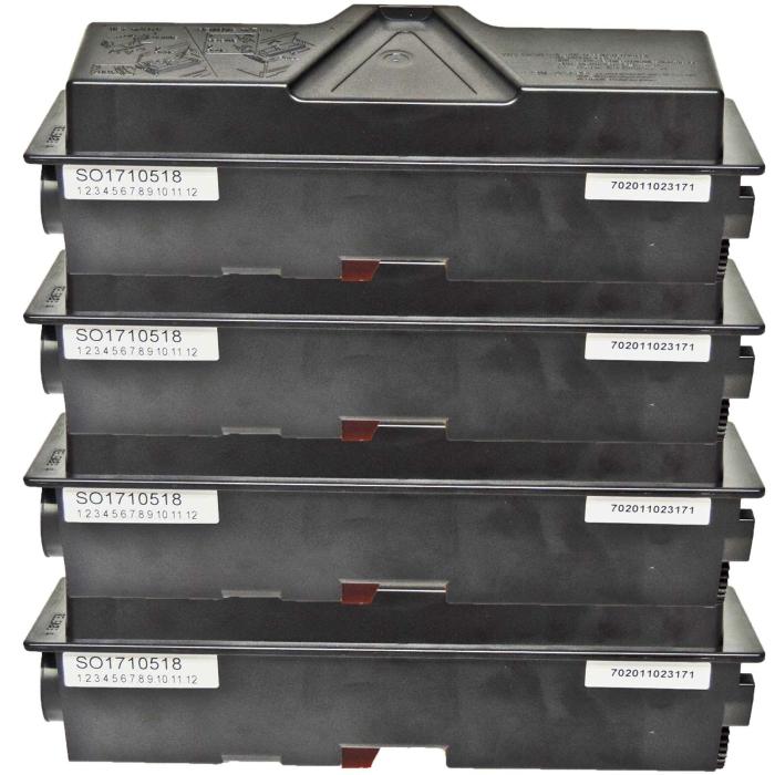 Kompatibel Kyocera TK-170, 1T02LZ0NL0 Toner Multipack 4...
