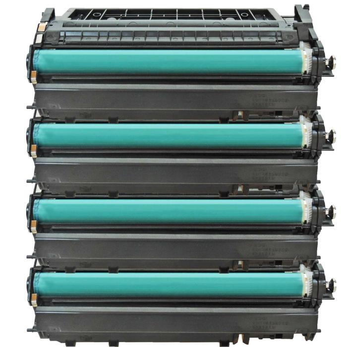 Kompatibel HP CF280X, 80X Toner Multipack 4 schwarze Tonerpatronen für je 6.900 Seiten von Gigao