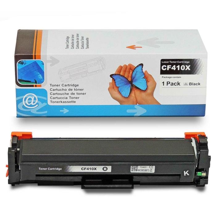 Kompatibel HP CF410X, 410X BK Schwarz Black Toner Patrone...